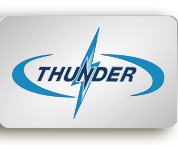 Thunder Case Logo - High quality cases for civil and military applications